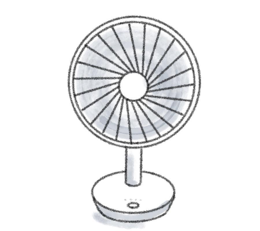 ルーメナー卓上扇風機