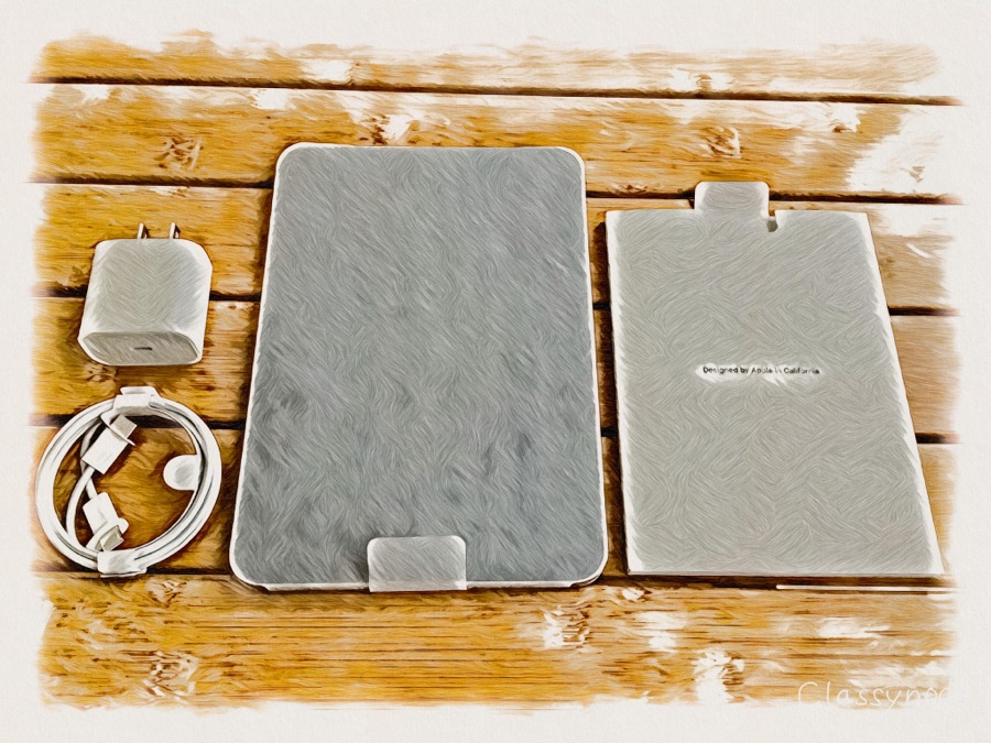 iPad mini 第6世代の開梱